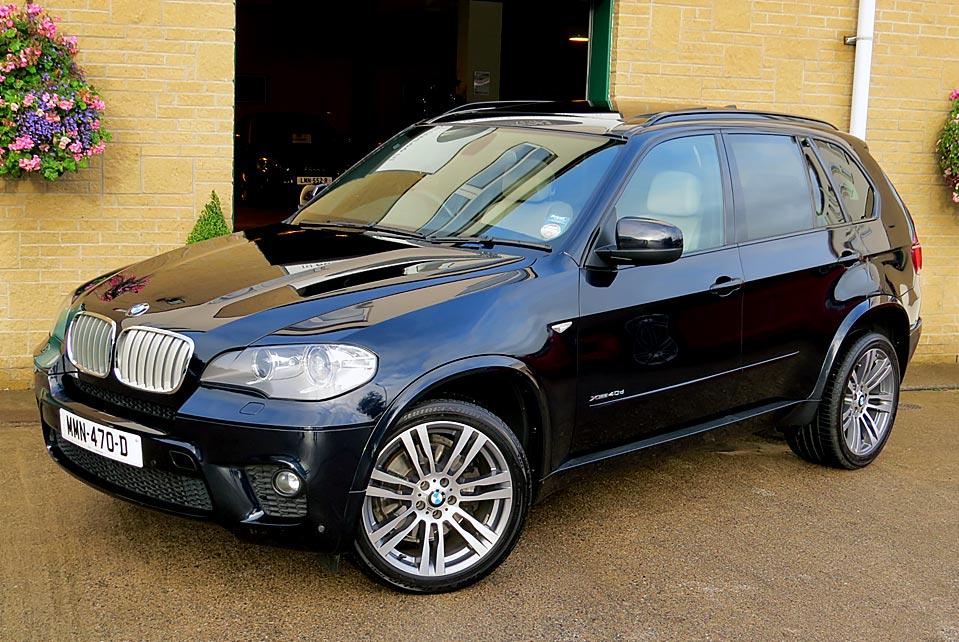 BMW X5 XDRIVE 4.0D M SPORT