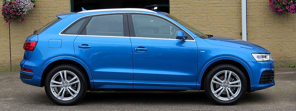 AUDI Q3 2.0 TDI (150PS ) S-LINE (Facelift Model)