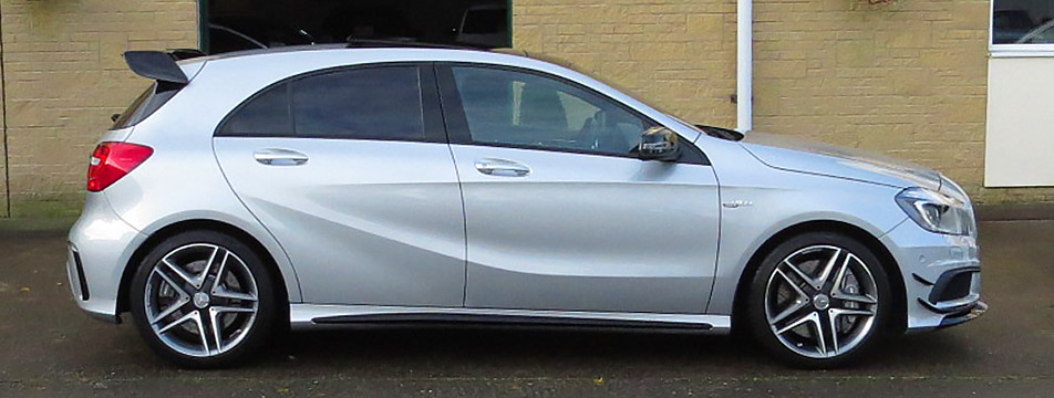 MERCEDES A45 AMG SPECIAL EDITION 4-MATIC