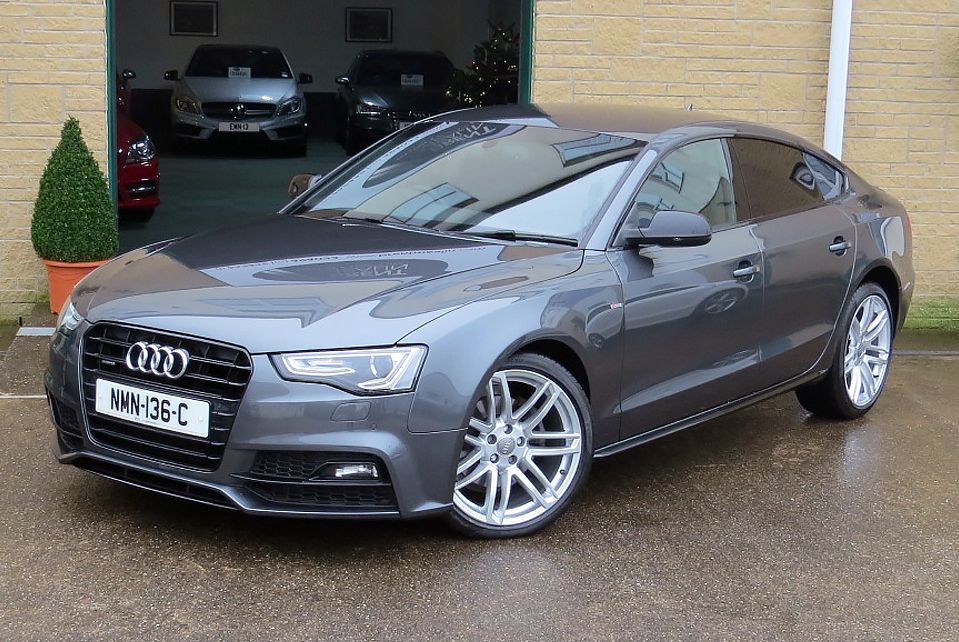 AUDI A5 2.0TDI (190 PS ) S-LINE SPECIAL EDITION PLUS S-TRONIC QUATTRO SPORTBACK