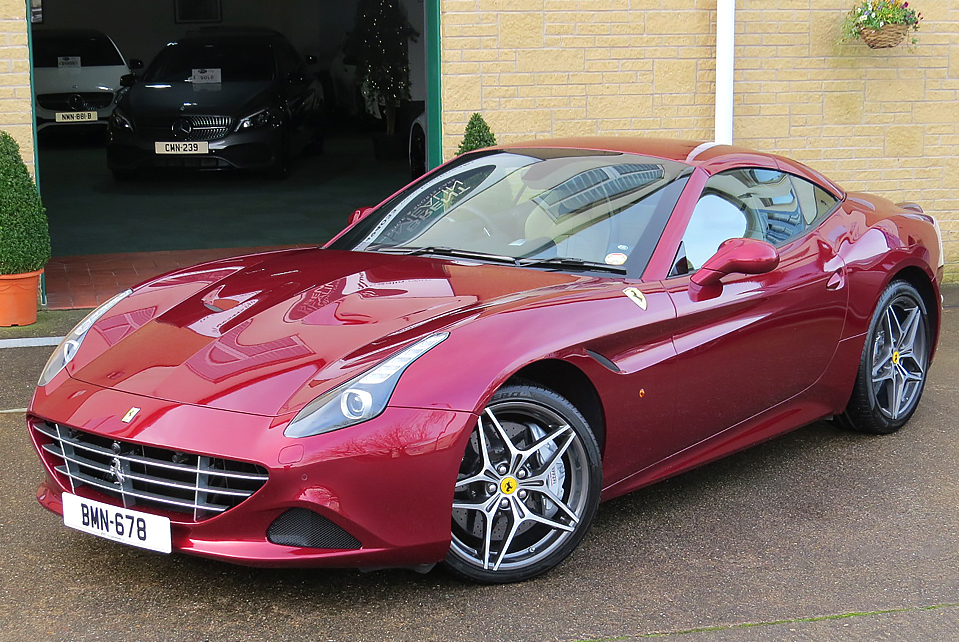FERRARI CALIFORNIA T F1 CONVERTIBLE