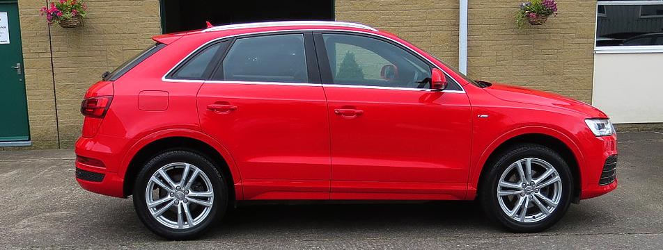 Audi Q3 2.0TDI S-LINE S-Tronic Quattro