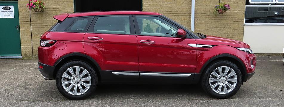 Range Rover Evoque 2.2SD4 Prestige Lux AWD