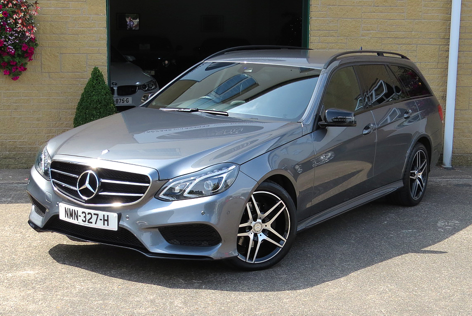 Mercedes E220CDi Blue Tec  7G-Tronic AMG Line Black Edition Estate