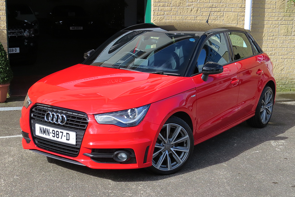 Audi A1 1.4TFSI S-Line Contrast Edition Sportback