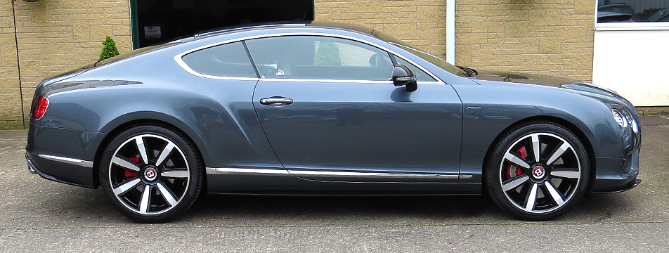Bentley Continental GT V8 'S' Mulliner Coupe