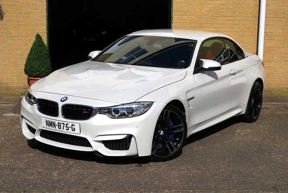 BMW 3.0 M4 DCT Convertible
