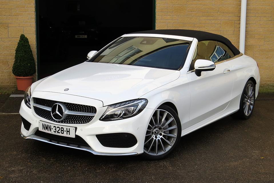 Mercedes C250d 9G-Tronic AMG Line Premium Plus Cabriolet