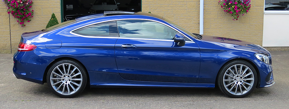 Mercedes C200 7G-Tronic AMG Line Premium Coupe