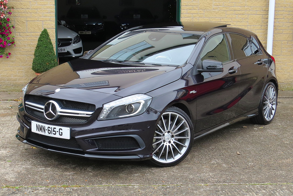 Mercedes A45 AMG 4-Matic