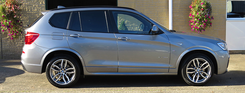 BMW X3 xDrive 2.0d-Auto' M Sport