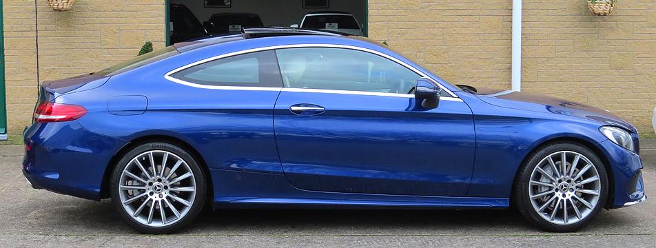 Mercedes C220 CDI-A AMG Line Premium Plus Coupe
