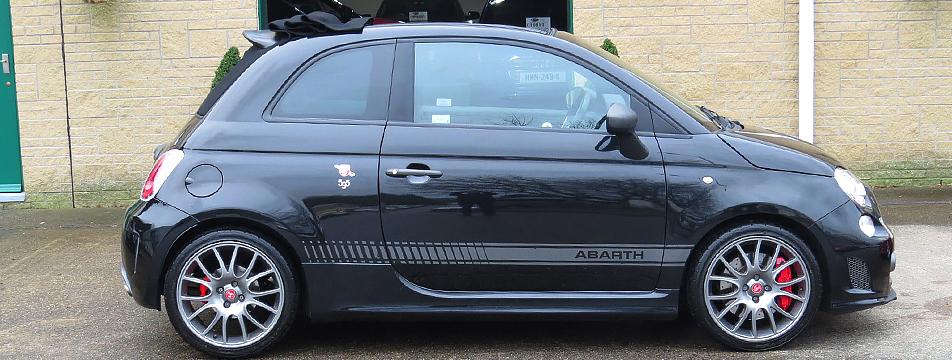 Fiat Abarth 595C  (180 bhp ) Competizione Convertible