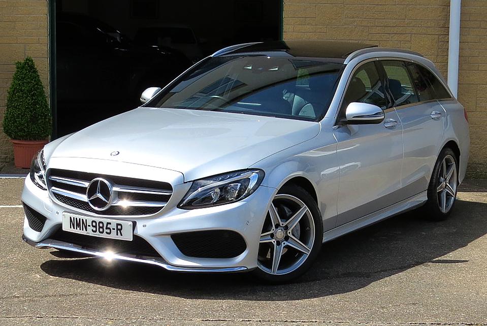 Mercedes C200 7G-Tronic Premium Plus Estate
