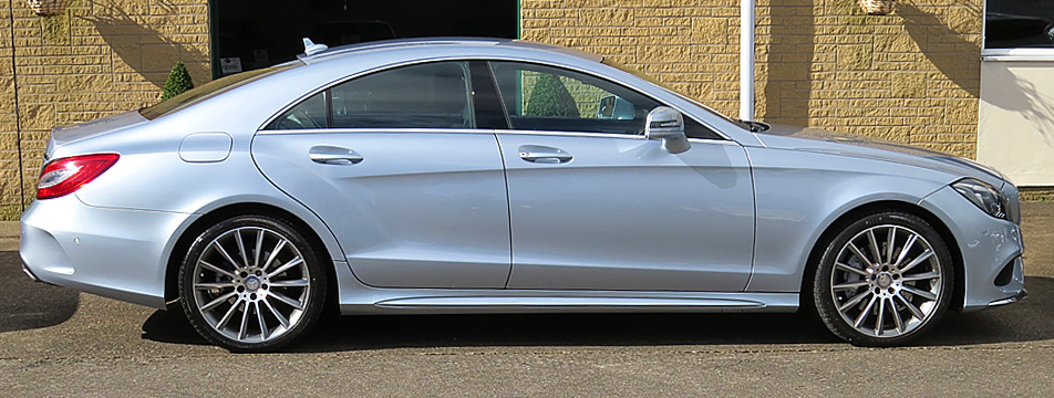 Mercedes CLS350d 9-Speed AMG Line Coupe (Facelift Model)
