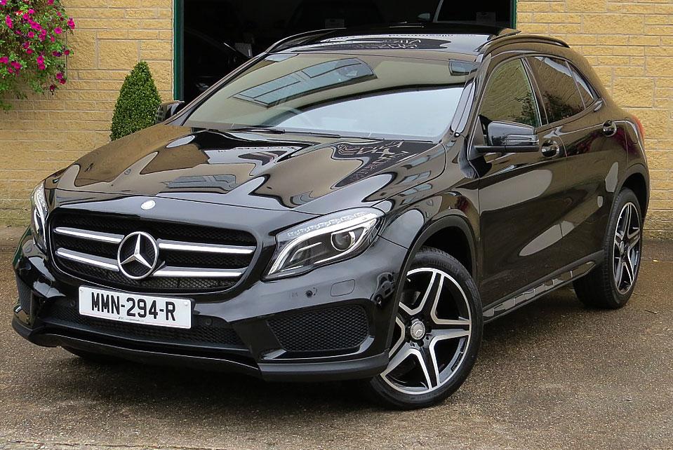 Mercedes GLA 220d 7G-Tronic AMG Line Premium Plus 4-Matic
