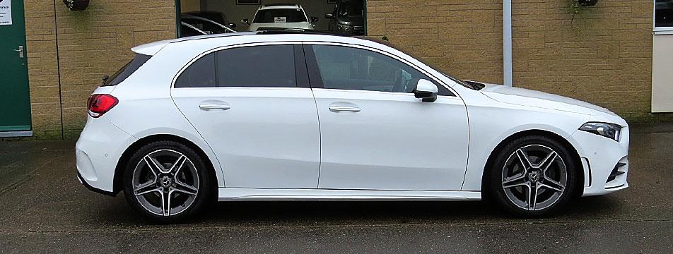 Mercedes A180d 7G-DCT Premium Plus Hatchback ( New Shape )