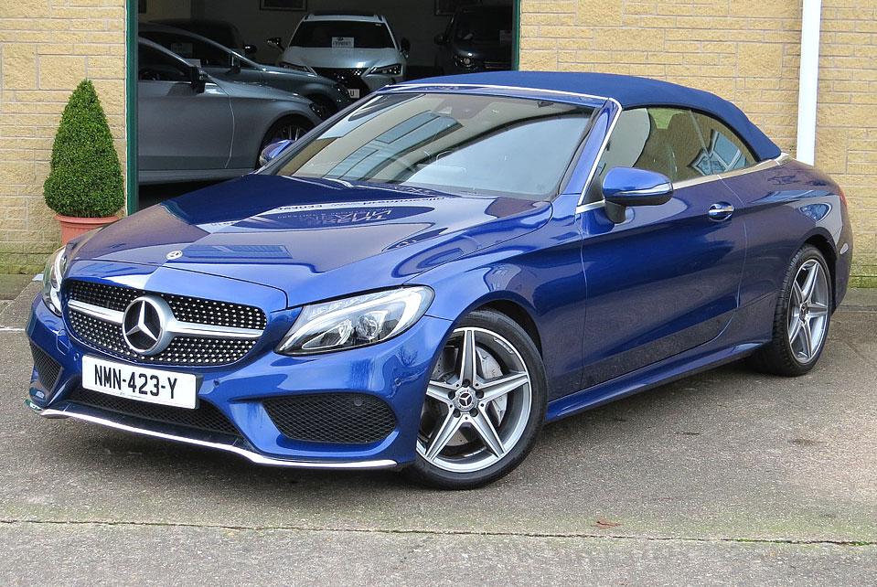 Mercedes C250d 9-Speed AMG Line Premium Plus Cabriolet