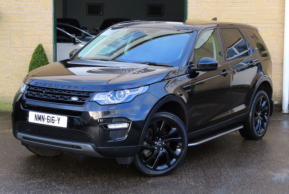 Land Rover Discovery 2.0TD4-Auto' HSE Black Edition AWD