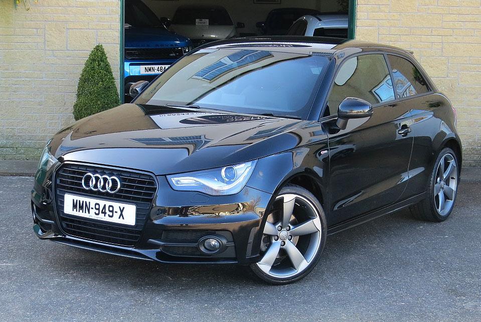 Audi A1 1.4 TFSI S-Tronic Black Edition