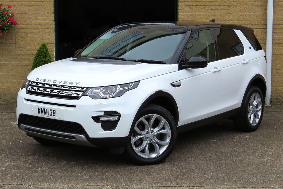Land Rover Discovery Sport 2.0TD4-A HSE AWD