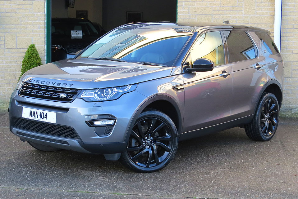 Land Rover Discovery Sport 2.0TD4-A HSE Black Edition AWD