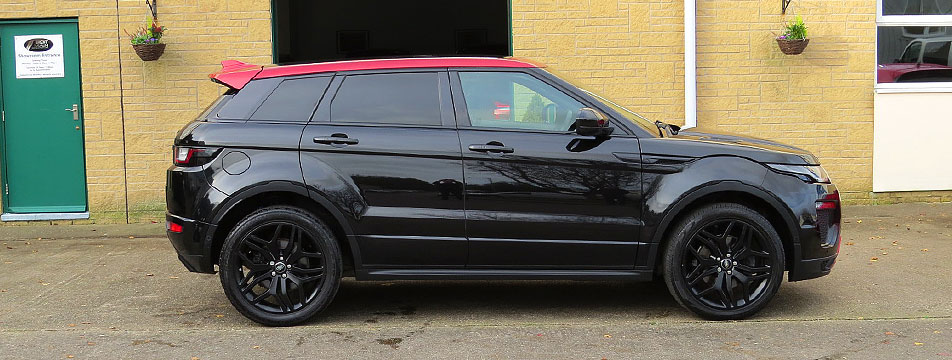 Range Rover Evoque 2.0TD4-A HSE Ember Special Edition AWD