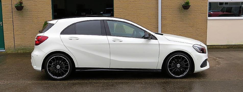 Mercedes A200d-A AMG Line Night Package Premium Plus