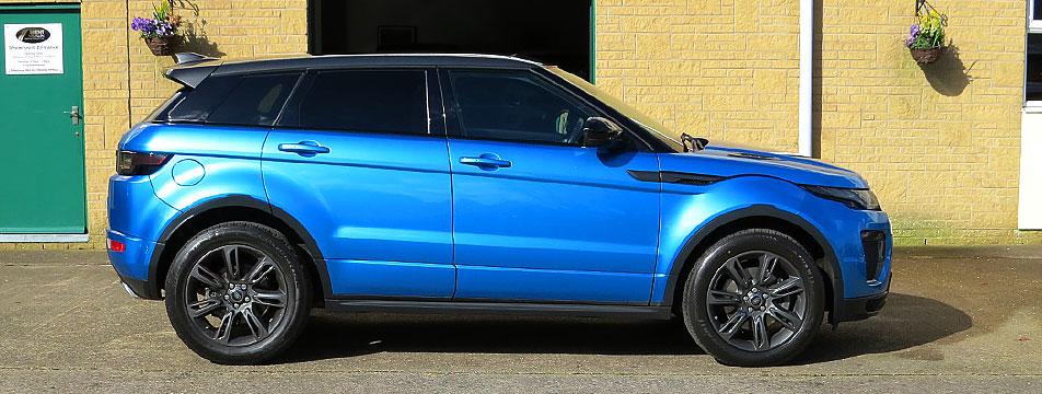 Range Rover Evoque 2.0TD4-A Landmark Special Edition AWD