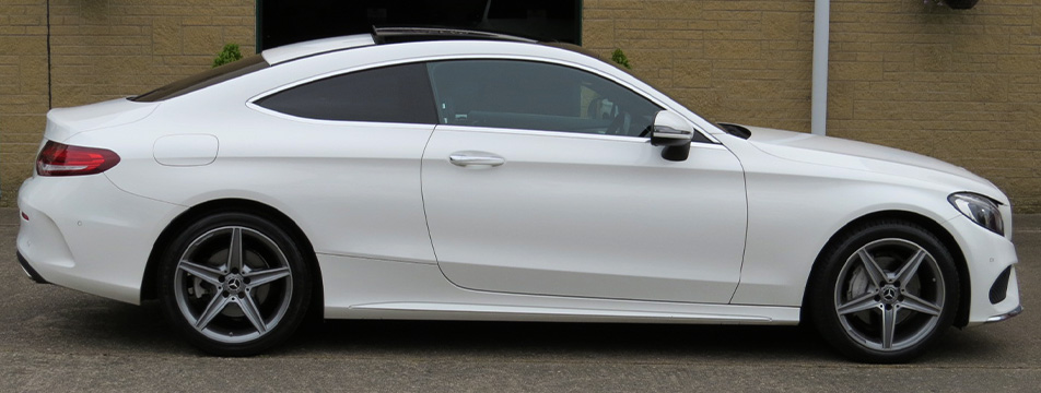 Mercedes C200-A AMG Line Premium Plus Coupe