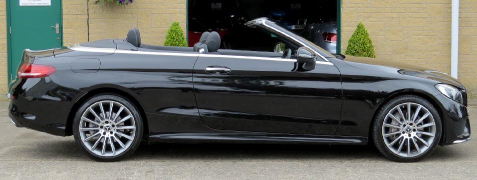 Mercedes C220d-A AMG Line Premium 4-Matic Cabriolet