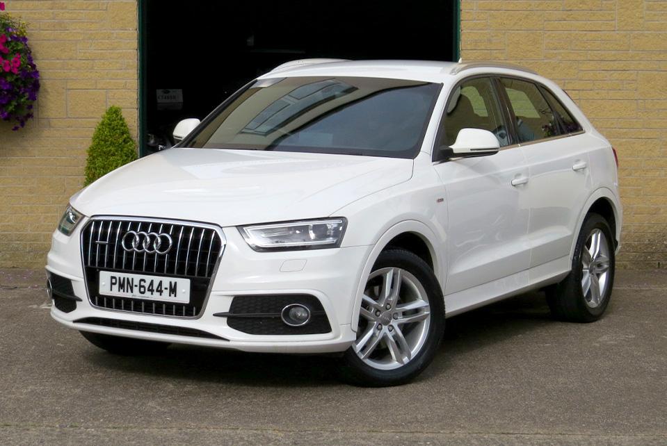 Audi Q3 2.0TDi DSG S-Line Quattro