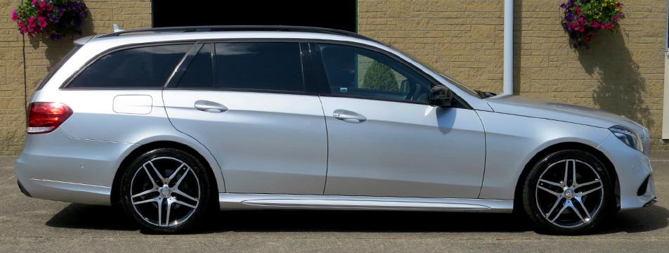 Mercedes E220d-A AMG Line Night Edition Estate