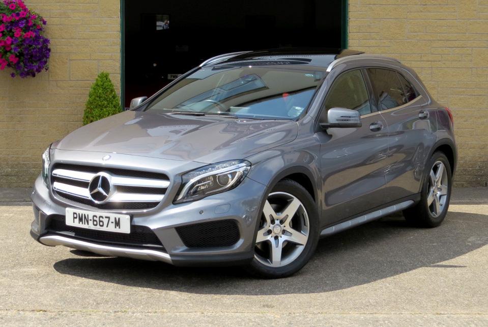 Mercedes GLA 220d-A AMG Line Premium Plus 4-Matic