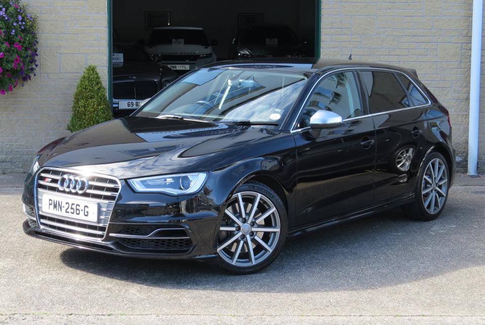 Audi S3 2.0TFSi  S-Tronic Quattro Sportback