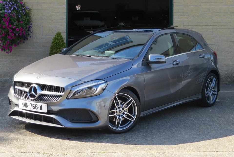 Mercedes A200d-A AMG Line Premium Plus Sportback